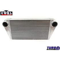 Intercooler TurboWorks 400x300x102 hátsó kivezetéssel